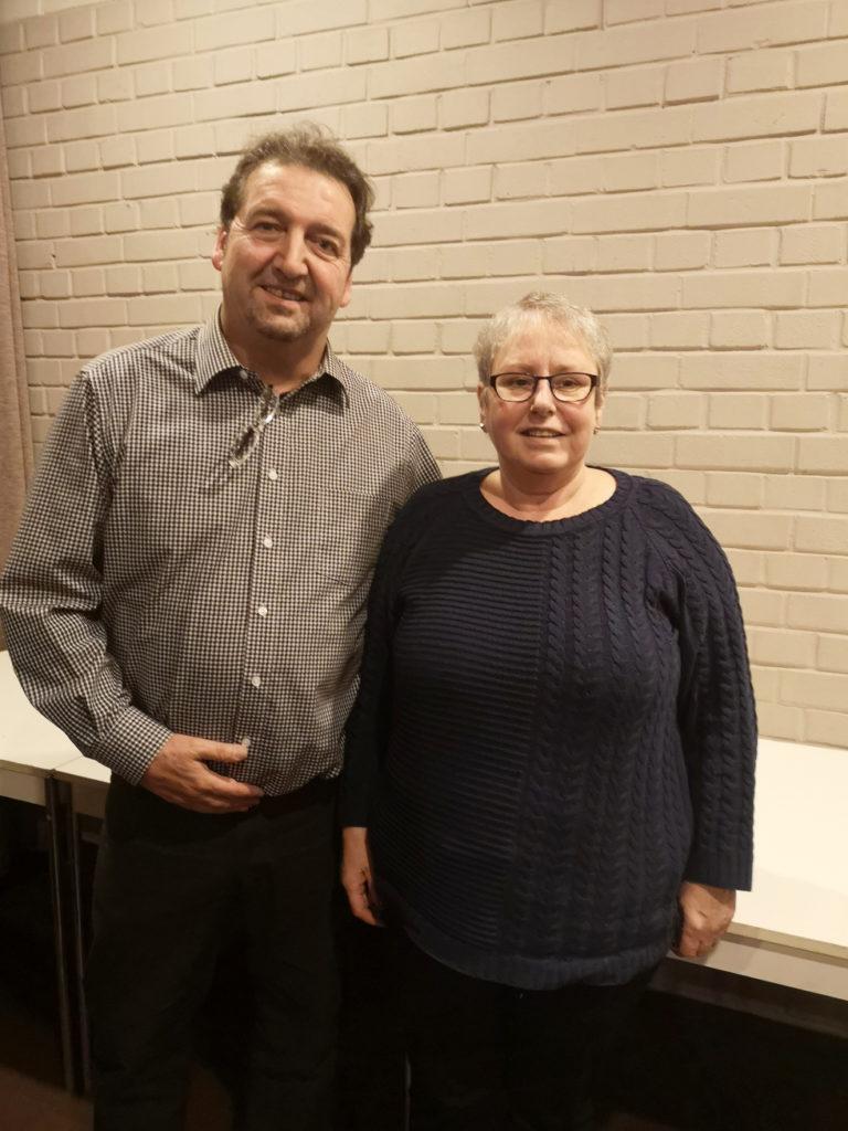 Nominiert für die Bezirksvertretung sind Jörg Schormann und Elisabeth Liß.